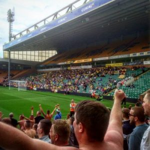 Inside Carrow Road