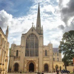 Westwerk der Kathedrale