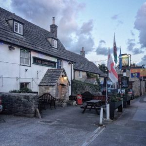 The cozy Castle Inn