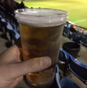 A pint of Carling