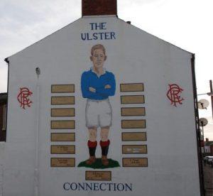 Protestantische Nordiren lieben die Rangers aus Glasgow