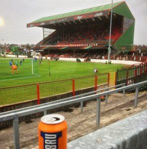 Blick auf den Main Stand