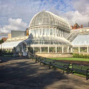Palmenhaus des Botanischen Gartens