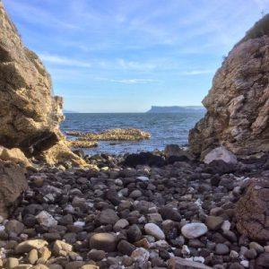 Die zerklüftete Küste Nordirlands