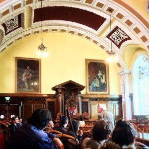 Zu Gast im Rathaus