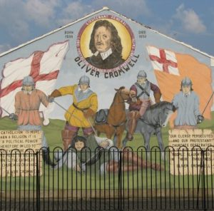 Mural zu Ehren Cromwells