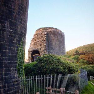 Die Ruine von Castle Corfe
