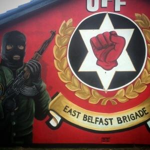 UFF Mural in East Belfast