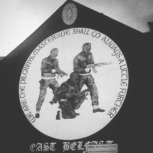 UVF Mural in East Belfast