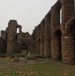 Die Ruinen von Sr. Botolph