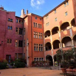 Herrlicher Renaissance-Hof