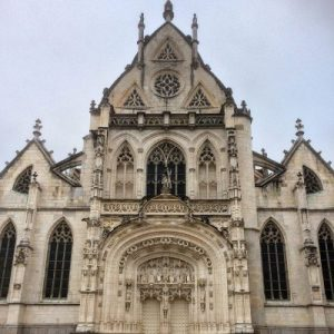 Hauptportal Klosterkirche Brou