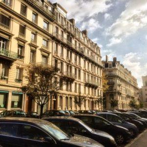 Typische Bebauung im 3.Arrondisement von Lyon
