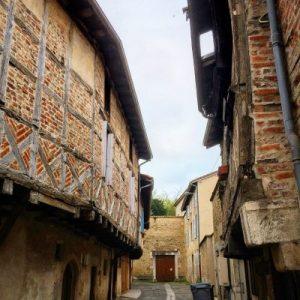 Altstadtgasse in Bourg-en-Bresse