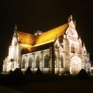 Kloster Brou bei Nacht