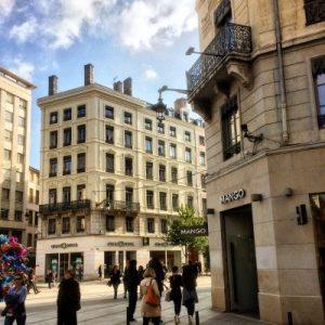 Einkaufsstraße im 2.Arrondisement