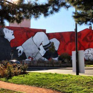 Auch Saint-Étienne hat Murals