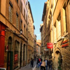 In den Gassen von Vieux Lyon