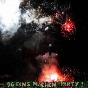 Feuerwerk am Böllenfalltor
