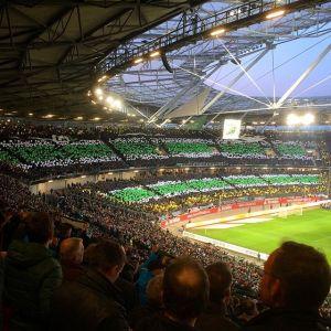 Choreo gegen den VfL Borussia