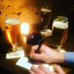 Kurzer Biergenuss in der Habana Bar