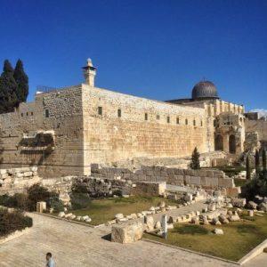 Der Tempelberg mit al Aqsa