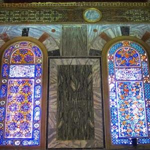 Fenster des Felsendoms