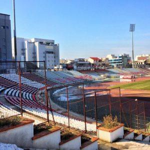 Das eigentliche Stadion von Dinamo