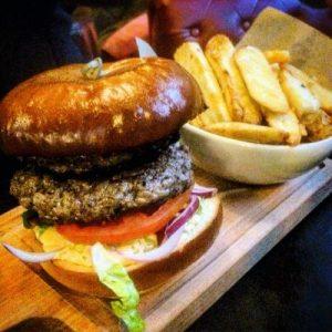 Burger im Beehive