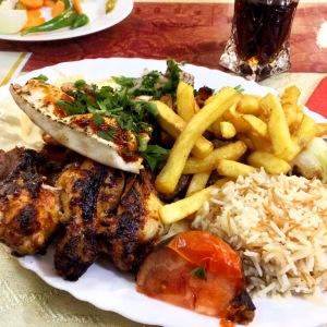 Orientalisches Abendessen